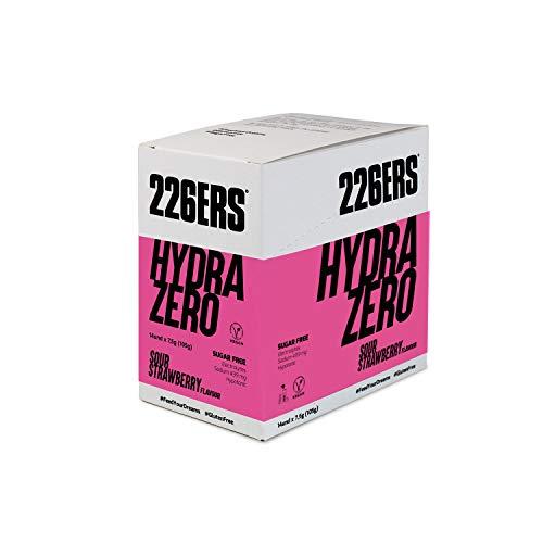 226ERS Hydrazero Drink, Sportgetränk für die Hydratation und die Regeneration von Elektrolyten, Saure Erdbeere - 14 Einheiten