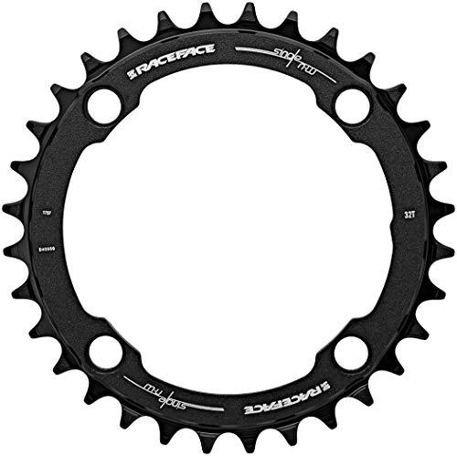 RaceFace rnw104X 36blk Vassoio per pedaliera Unisex Adulto, Nero