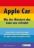 Apple Car: Wie der iKonzern das Auto neu erfindet