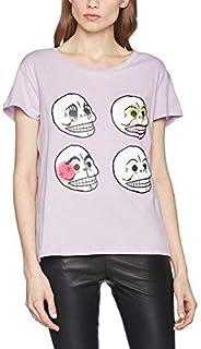 チープマンデーウィメンTシャツパーソナルパープルTシャツ、パープル(ライラック)、6(サイズ:X-Small)