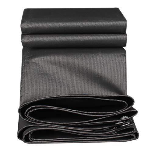 Color : Black, Size : 9.9x13.2ft//3x4m Toile dombre 85/% Tissu Dombrage Soleil Maille Chiffrement Pare-soleil Avec /Œillets Ext/érieur Couverture De B/âche V/ég/étale R/éversible Couvert De Pergola