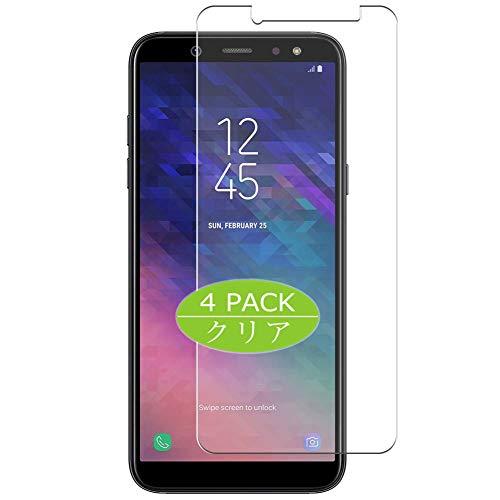 VacFun 4 Piezas HD Claro Protector de Pantalla Compatible con Samsung Galaxy A9 Star Lite SM-A6050, Screen Protector Sin Burbujas Película Protectora (Not Cristal Templado) New Version