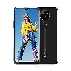 Blackview A80 (2020) Smartphone ohne Vertrag 4G, Android 10 Go 15,7cm (6,21 Zoll) HD+ Display, 13MP-Quad-Kamera, 4200mAh Batterie 2GB/16GB, 128 GB erweiterbar, Dual Nano-SIM Handy (Schwarz)