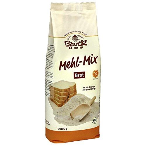 Bauckhof Bio Glutenfreie Mehlmischung, Mehl-Mix Brot (1 x 800 gr)