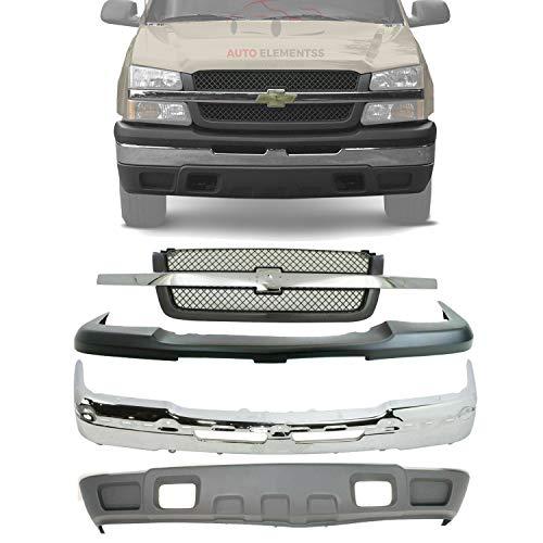 03 chevy silverado front bumper - 3
