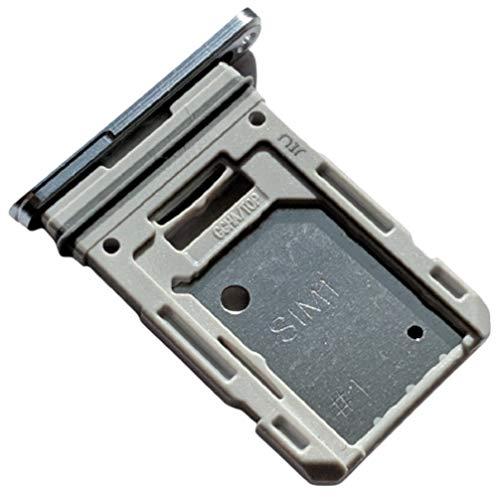 Bandeja Tarjeta SIM y Soporte Micro-SD Hybrid para Samsung Galaxy S20 FE (5G), Repuesto Original, Blanco