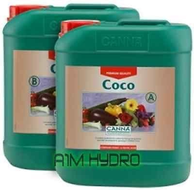 Canna Coco 5Liter A + B Set Nährstoffe Hydrokultur