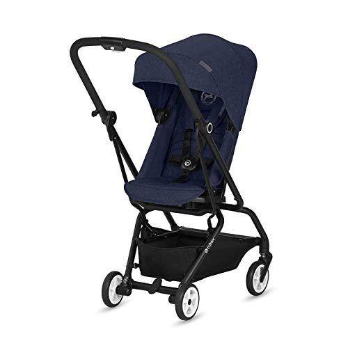 CYBEX Gold Buggy Eezy S Twist, 360° Rotierbare Sitzeinheit, Ultrakompakt, Ab Geburt bis 17 kg (ca. 4 Jahre), Denim Blue