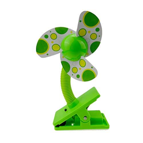 GUMEI Cute Portable Baby Cuna Cuna Clip Ventilador Cochecito Cochecito Seguridad Clip-on Fan