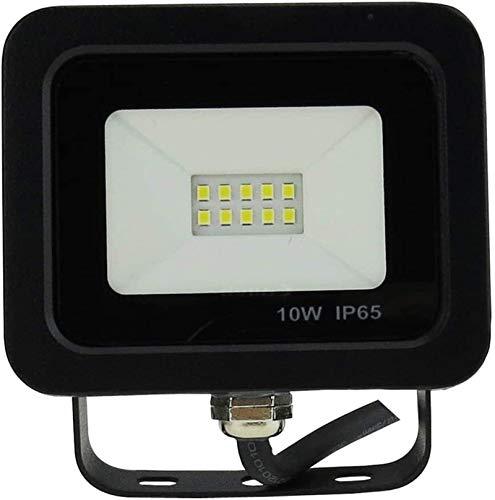 ZHUYU Licht LED-Flutlicht, 8000LM super helle Sicherheits-Leuchten IP66 Wasserdicht 2700K Außen Landschaft for Yard Garten Spielplatz-Party (Color : A-10w)
