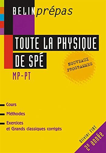 Toute la physique de Spé MP/PT