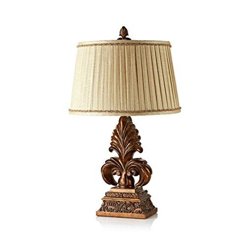 Lampes QY de Table de Table de Jardin rétro européenne de Luxe de Chevet (Taille : Large Button Switch)