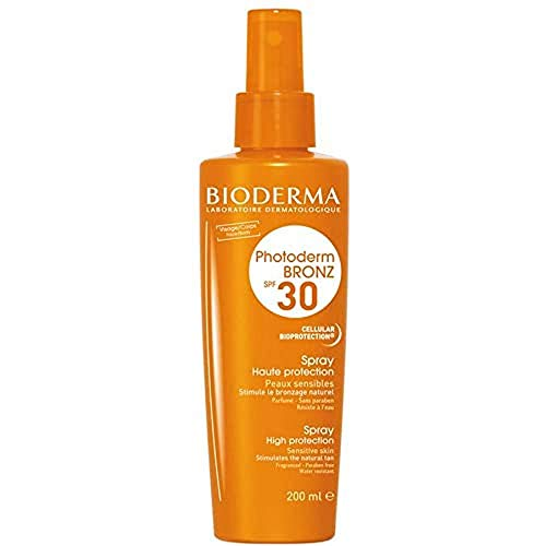 Bioderma Corps Solaire à l'Huile, Vanille, 200 ml