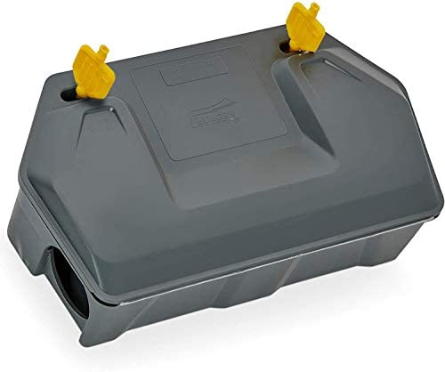 Rat Bait Station Rodent Bait Station with Key Eliminates Rats and Mice Fast Keeps Children and product image