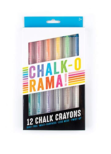 OOLY, Chalk-O-Rama, Set of 12 Chalk Crayons