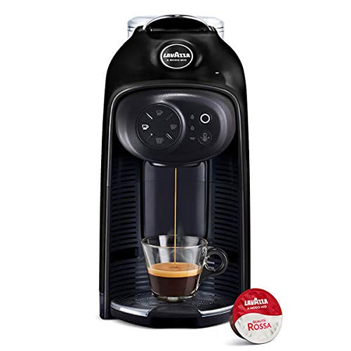 Lavazza A Modo Mio Idola Espresso Coffee Machine, Black