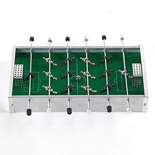 Ydq Kinder Tischkicker TischfußBall Glasgow Spielzeug | Kugeln Spiel | Aluminiumlegierung Fußball Brettspiel Toy Set FüR Erwachsene Soccer Haus Board Game