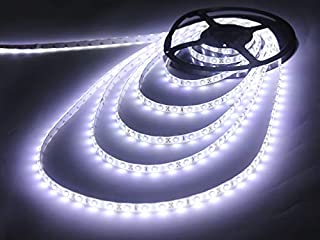 Miheal LED Strip Light, Flexible, SMD 2835, 16.4ft Tape Light for Home, Kitchen, Party, Christmas and More, Non-Waterproo...
