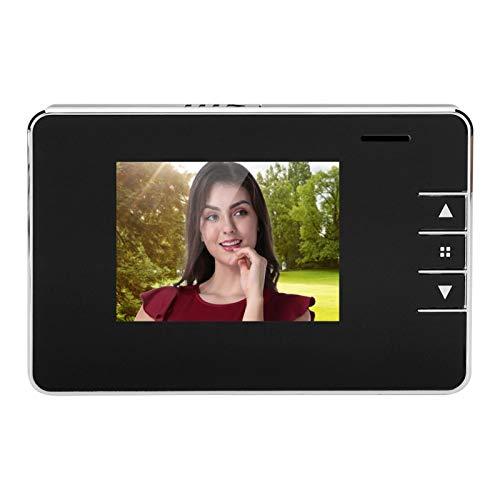Timbre de visión Nocturna, cámara de Timbre para Exteriores, cámara HD de 0.3MP Fácil de Instalar en casa para grabación de Video Captura de imágenes HD