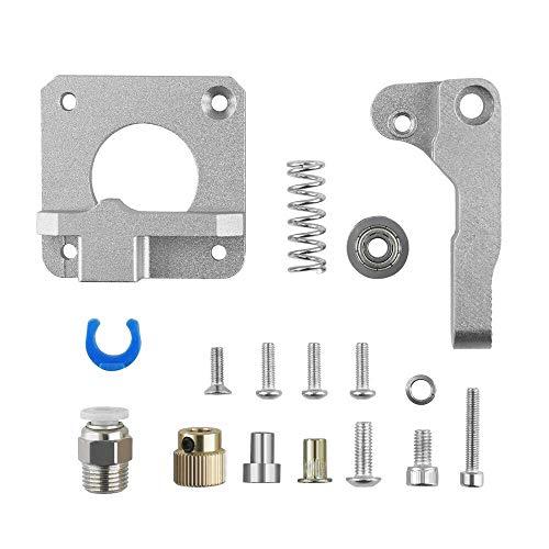 DollaTek kit de extrusora de actualización extrusora bowden gris para impresoras 3d cr-10