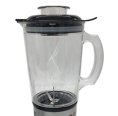 Joystar 1 pcs Replacement Part 48 oz cup with seal Lid for Magic Bullet Blender, Mixer, Juicer, Food Processor (MBR-1701… |