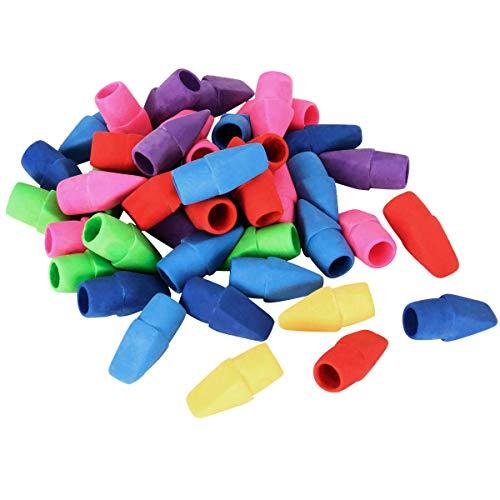 ANPHSIN キャップ 消しゴム - 40枚セット ミニ 消しゴム 可愛い カラフル パズル消しゴム 鉛筆消しゴム 色鉛筆用 子供用 パーティー 子供へのプレゼント 学校 学生 文房具 創造的な おもちゃ ギフト 景品