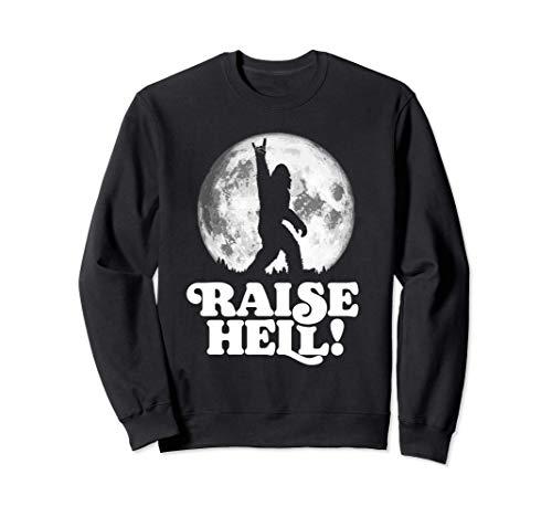 Raise Hell! Rock n' Roll Bigfoot Night Stroll & Moon トレーナー