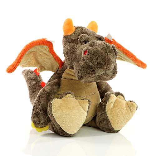 Minifeet Dragón Edda – Peluche de peluche – Dragon aventura regalo para niños bebé niña niño nacimiento cumpleaños Navidad calendario de Adviento