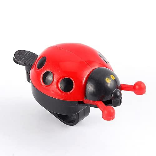 minifinker Timbre de Bicicleta para niños Ladybug, para Scooter, para niñas