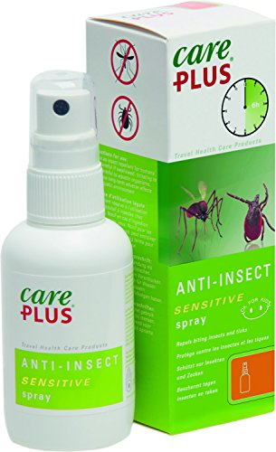 Care Plus Anti-Insect Sensitive Icaridin Spray, 60 ml