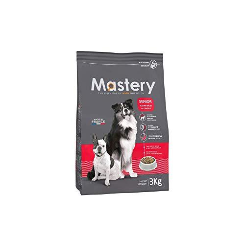 Mastery Nourriture pour Chien Senior, Croquettes pour Anciens Chiens - 3 kg