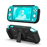 TiMOVO Cover for Nintendo Switch Lite Case, Shock-Resistant Protective TPU Cover with Card Slots, Kickstand &...