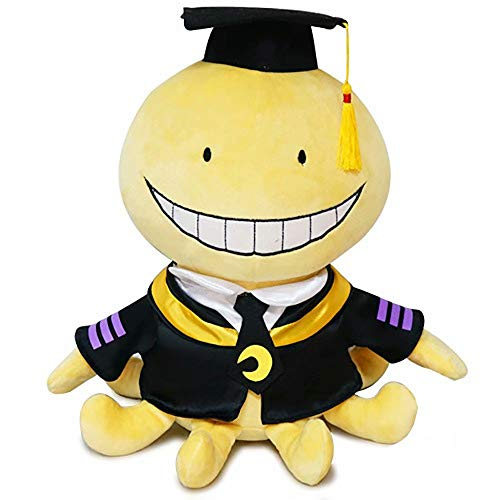 QtjwjkfL2612 Anime Assassination Classroom Plush Doll, Korosensei Octopus Plush Toy Doll Super Soft Cute PP Cotton Plush Anime Peripheral Pillow Anime Fans Gift