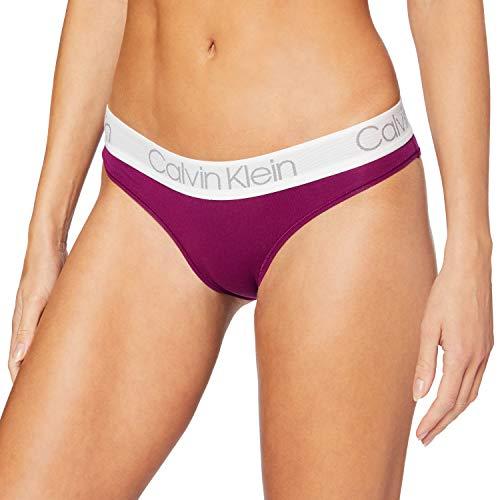 Calvin Klein Braguita de Bikini, Morado (Loyal LY7), (Talla del Fabricante: Medium) para Mujer