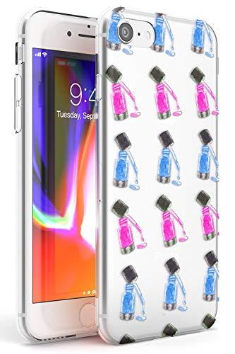 Nail Polish Makeup Modello Slim Cover per iPhone 5 TPU Protettivo Phone Leggero con Modello Tendenza Carina Moda Progettista
