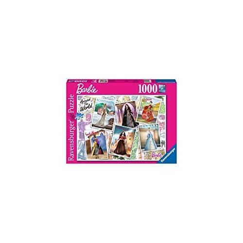 Ravensburger Puzzle 1000 Teile Barbie rund um die Welt, Erwachsene, 4005556165025