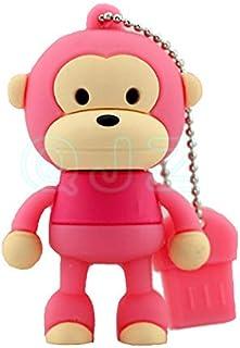 USB Flash Drive USB Flash Disk Memory Stick Thumb Pen Hi-Speed USB 2.0 Novelty Pendrive Silicon Baby Cute Cartoon Animal S...