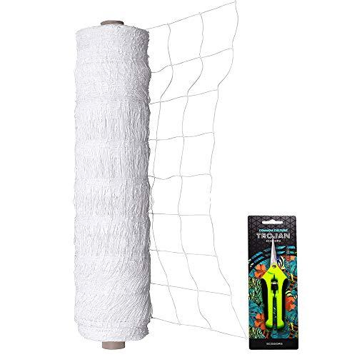 "COMMON CULTURE Professional Grade Trellis Netting Bulk Roll, 6.5ft x 4920ft (78"" x 4920"