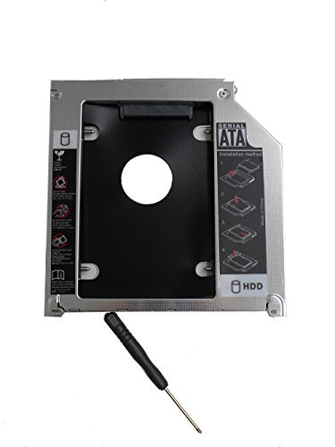 ZXUY Hard Drive SATA 2nd HDD Caddy Tray for...