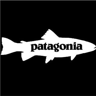 Patagonia Trout Window Sticker Sticker 8x3