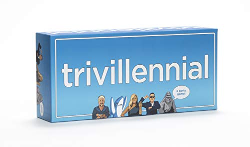 Trivillennial  The Trivia Game for Millennials A Party Game