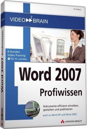 Word 2007 Profiwissen - Videotraining [import allemand]