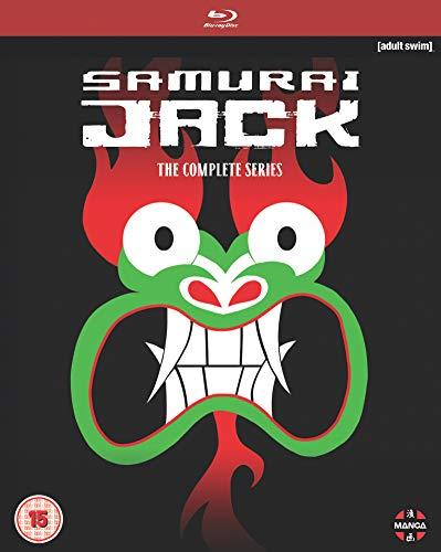 Samurai Jack The Complete Series (Includes Seasons 1-5) (Blu-ray)