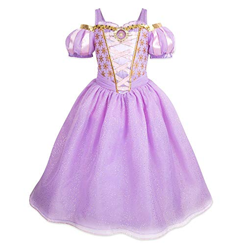 Disney Rapunzel Costume for Kids  Tangled- Size 5/6 Purple