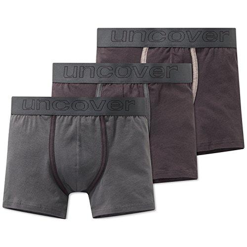Schiesser Jungen Multipack 3Pack Shorts' Boxershorts, Mehrfarbig (Sortiert 1 901), 164 (Herstellergröße: M) (3er Pack)