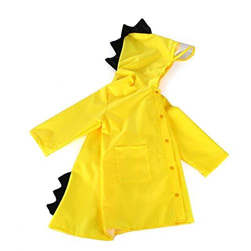 Best Quality - Raincoats - kleine dinosaur cartoon solid regencoat kleuterschool student kinderen regenjas kleur huishouden poncho merchandises Child - by Rocco - 1 pc Oa0094y - S - China