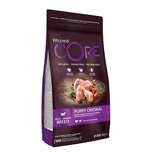 Wellness CORE Puppy / Hundefutter Trocken für Welpen / Getreidefrei / Hoher Fleischanteil / Pute mit Huhn, 1,5 kg
