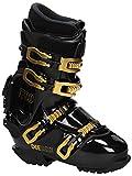 Deeluxe Track 700Hard Boots Snowboard Calzatura–Black Gold Con HP 2.0Liner interno barca Race Board, black gold, 26,5