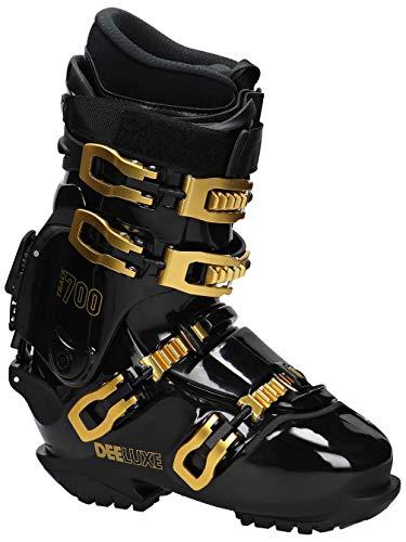 Deeluxe Track 700Hard Boots Snowboard Calzatura–Black Gold Con HP 2.0Liner interno barca Race Board, black gold, 27