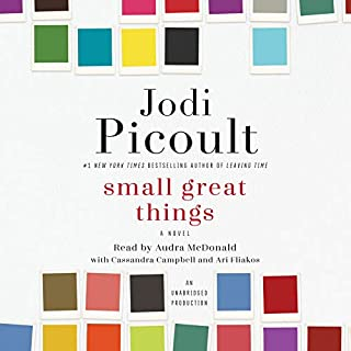 Small Great Things audiobook cover art